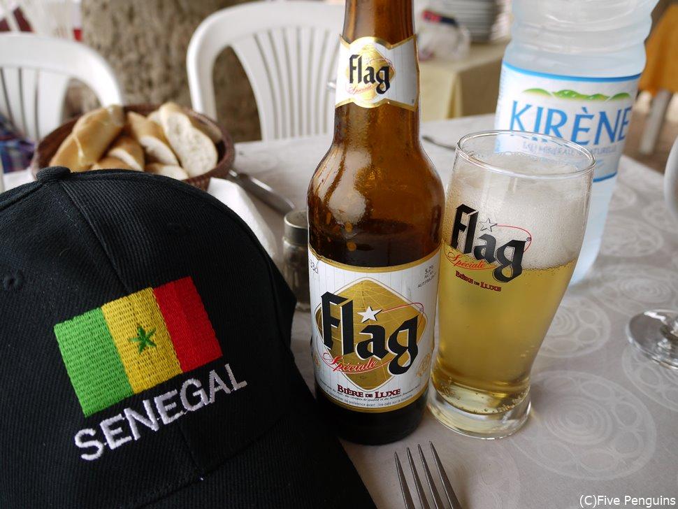 セネガルのフラグビール