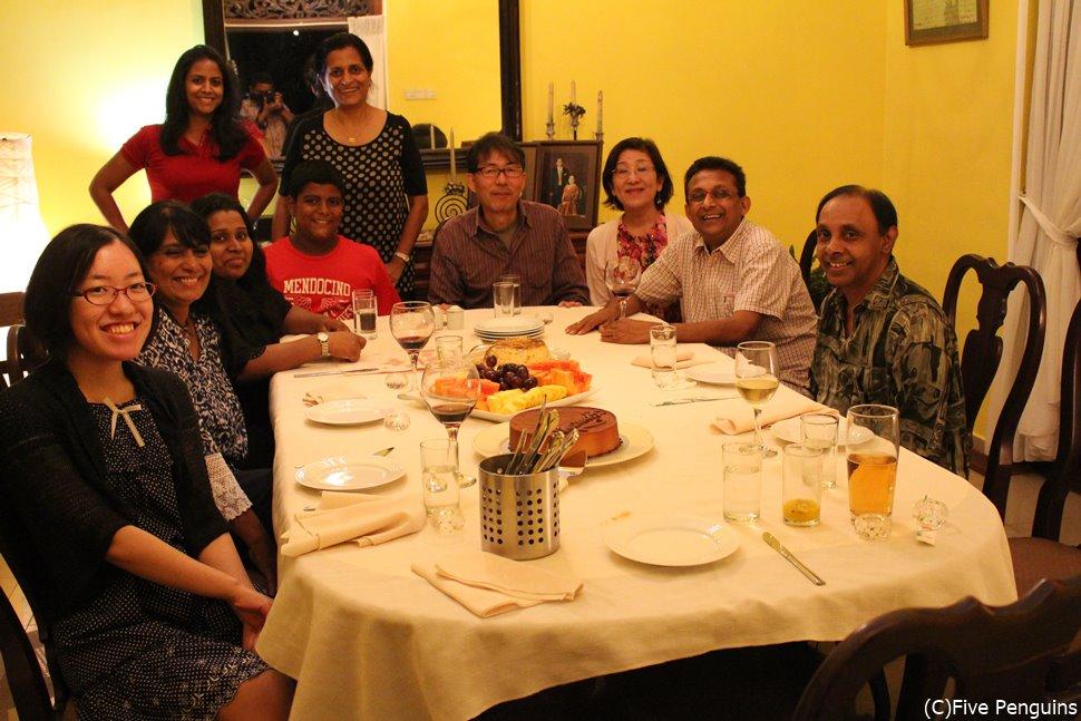 人生4度目のスリランカでは家庭訪問も。家庭料理を堪能しました!