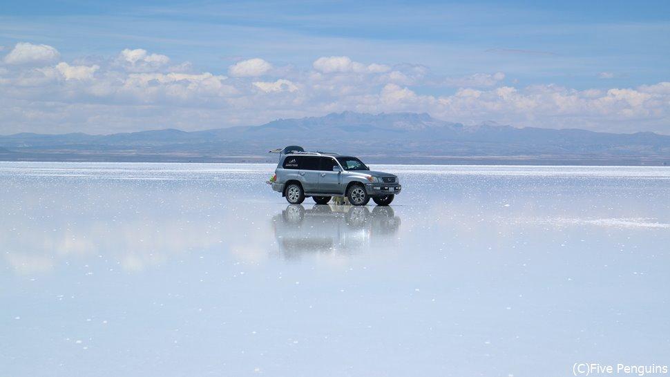旅人たる者、やはり制覇しておきたい「ウユニ塩湖」