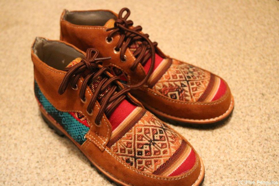世界に一つのオーダーメイド靴♪