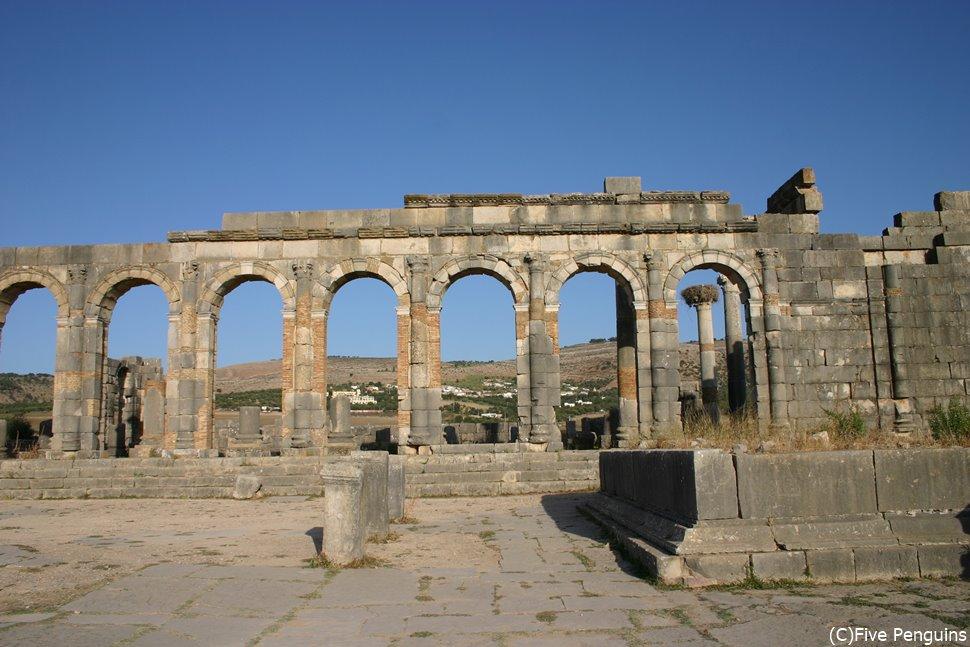 ヴォルビリス遺跡(モロッコ)