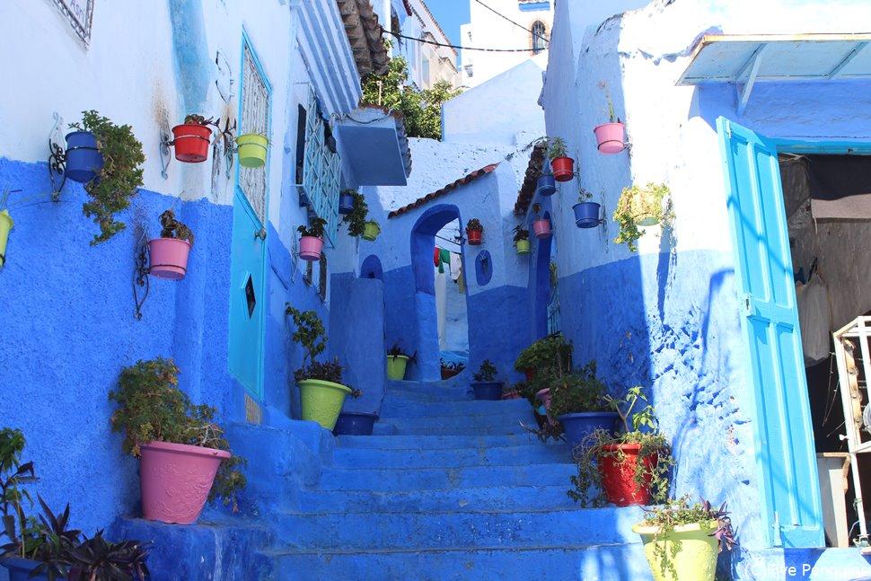 青い町シャウエン(モロッコ)