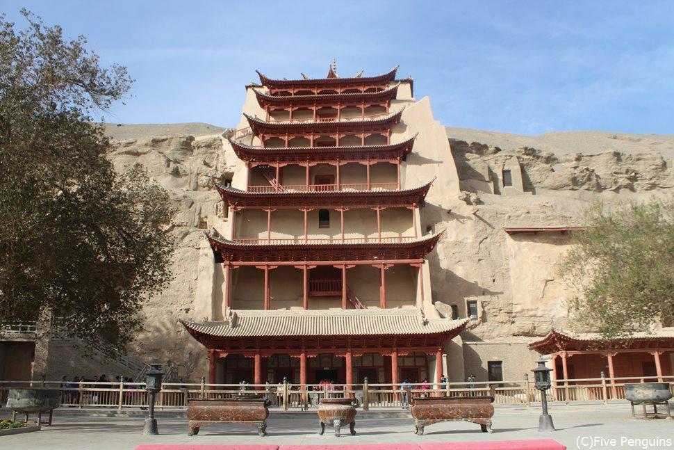 1000年に渡る中国仏教美術の宝庫 莫高窟