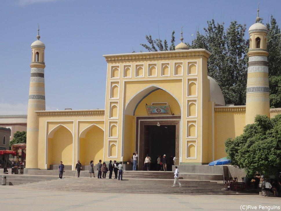 カシュガルのシンボル エイティガール寺院