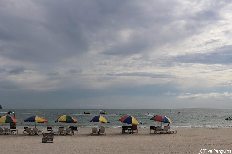外国人が最も集まるエリア チェナンビーチ