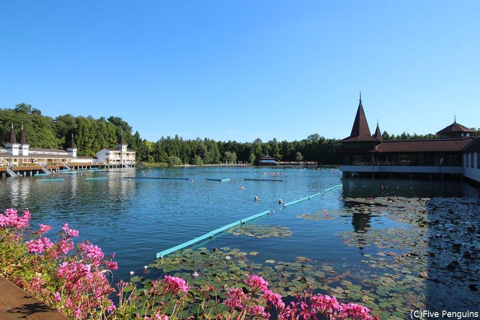 ヘーヴィーズ温泉湖